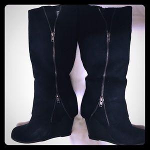 Rampage Black Shanta boots